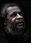 Sheila Smart - Aboriginal man