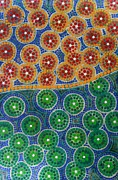 Aboriginal Art Paintings - Aboryginal Inspirations 3 by Mariusz Czajkowski