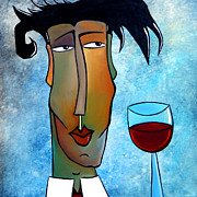 Wine Deco Art Prints - About Time Print by Tom Fedro - Fidostudio