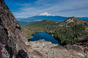 Castle On Mountain Prints - Above Castle Lake 1 Print by Greg Nyquist
