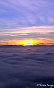 Christopher Fridley Prints - Above the clouds... Print by Christopher Fridley