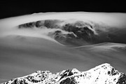 Cloud Formations. Cloud Photography Prints - Above the Peaks Print by David Bowman