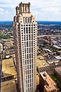Tisdale Photos - Above The Rest - Atlanta 191 Peachtree by Mark E Tisdale