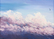 Storm Pastels - Above the Storm by Sue Lewis
