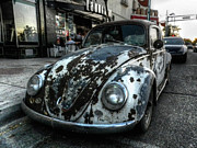Volkswagen Beetle Prints - ABQ - Rat Bug Print by Lance Vaughn