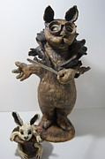Statue Ceramics - Abracadadabra by Susan  Brown  Slizys artist name