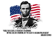 Emancipation Digital Art - Abraham Lincoln Ameliorating Mankind by Charles River Editors