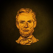 David Dehner Prints - Abraham Lincoln  Print by David Dehner