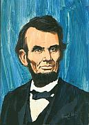 Abraham Lincoln Painting Posters - Abraham Lincoln Poster by Harry West