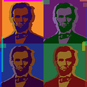 Senator Digital Art - Abraham Lincoln by Jean luc Comperat