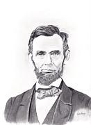 Abraham Lincoln Print by Lou Knapp