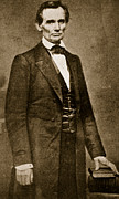 Lincoln Photos - Abraham Lincoln by Mathew Brady