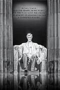 Abraham Lincoln Memorial Print by Susan Candelario
