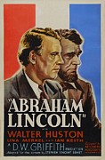 Mary Todd Lincoln Prints - Abraham Lincoln Print by Movie Poster Prints