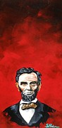 Abe Paintings - Abraham Lincoln by Scott  Parker