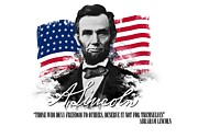 Emancipation Digital Art - Abraham Lincoln Those Who Deny Freedom by Charles River Editors