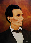 Politicians Painting Originals - Abraham Lincoln by Van Bunch