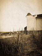Abandoned Building Framed Prints - Absence of Noise in Sepia Framed Print by Colleen Kammerer
