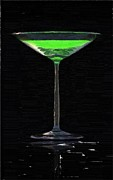 Absinth In The Glass Print by Aleksey Tugolukov