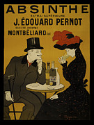Black Top Painting Posters - Absinthe Pernot Poster by Vintage Images