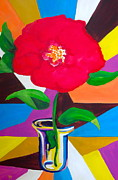 Pete Maier Art - Abstact Flower by Pete Maier