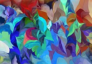 Botanical Fantasy Series - Abstract 062713 by David Lane
