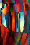 Santa Fe Digital Art - Abstract #1 by Elena Nosyreva