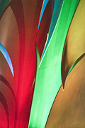 Plexiglass Photos - Abstract 101 by Steve Hamblin