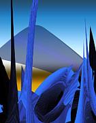 Abstract 200 Print by Gerlinde Keating - Keating Associates Inc