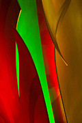 Plexiglass Photos - Abstract 400 by Steve Hamblin