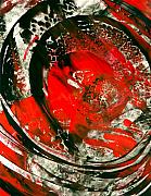 Abstract Prints Paintings - Abstract 5 by Sharon Cummings