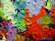 Abstract Expressionism Paintings - Abstract 7 by John  Nolan