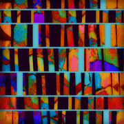 Extreme Digital Art Prints - abstract - art- Color Pop  Print by Ann Powell