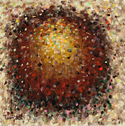 Pointillist Originals - Abstract Art Fifty-One by Lynne Taetzsch