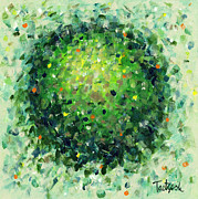 Pointillist Originals - Abstract Art Fifty-Three by Lynne Taetzsch