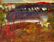 Abstract Art Landscape Print by Blenda Studio