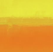 Ricki Mountain - Abstract art Sunset