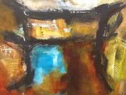Including Paintings - Abstract Asian. Asian Gate III by Karen Greif