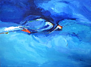 Zaher Bizri - Abstract Blue Zaher...