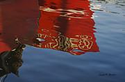 David Gordon - Abstract Boat Reflection V