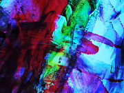 Abstract Bold Colors Print by Andrea Anderegg