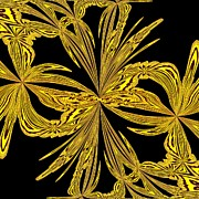 Margaret Newcomb - Abstract Botanical Gold