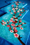 Shraddha Tiwari - Abstract Cherry Blossom...