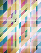 Phil Perkins - Abstract Colorful Stripes