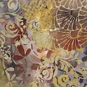 Abstract Decorative Surface Pattern Design Original Painting Art By Madart Studios Print by Megan Duncanson