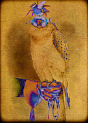 Pamela Phelps - Abstract Falconer and Falcon