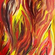Irina Sztukowski - Abstract Flames