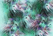 Flowers - Abstract Floral 012113 by David Lane