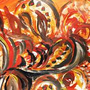 Irina Sztukowski - Abstract Floral Design Autumn Leaves