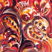 Irina Sztukowski - Abstract Floral Design The Seed Pod